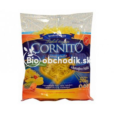 Kukuričné cestoviny rezance Cornito 200g
