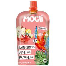 Moothie jablko-banán-jahoda 100g Mogli