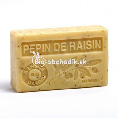 Mydlo BIO arganový olej - Hroznové semienka 100g