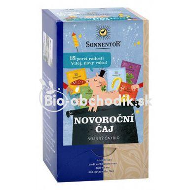 Novoročný porciovaný čaj BIO 32,4g Sonnentor