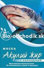 Kolagénová maska na tvár so žraločím tukom a nechtíkom 10ml